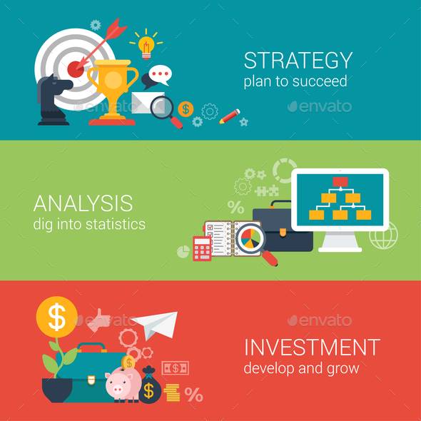 Business Success Strategy Infographic Concept - Concepts Business