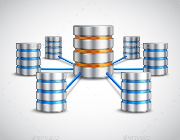 Network Database Concept - Objects Vectors