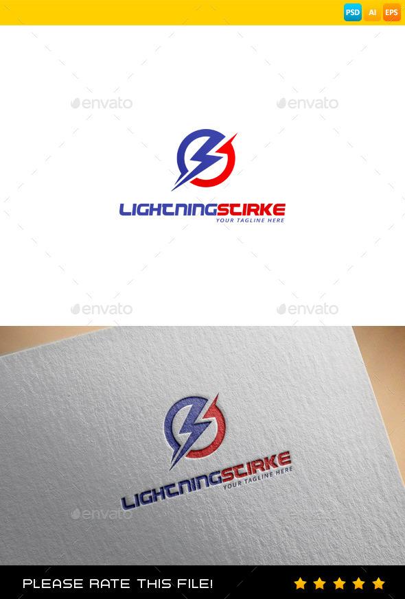 Lightning Logo - Nature Logo Templates