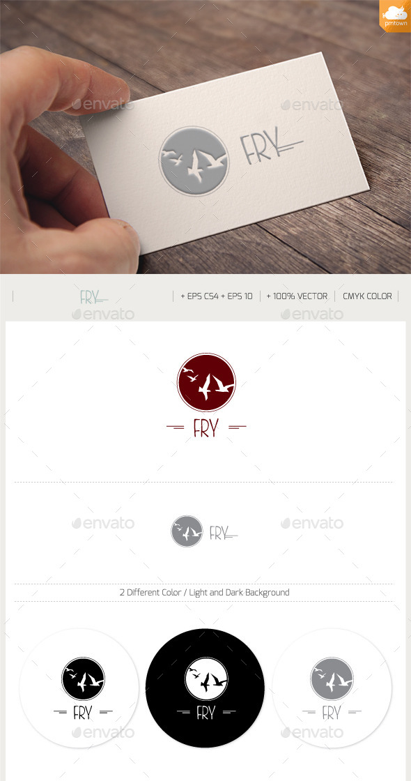 Fly - Animals Logo Templates
