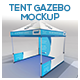 Tent Gazebo Mockup - GraphicRiver Item for Sale