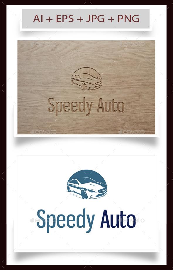 Speedy Auto Logo - Objects Logo Templates