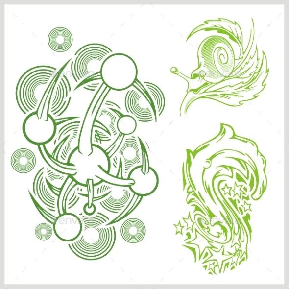 Flower Design for Tattoo - Patterns Decorative