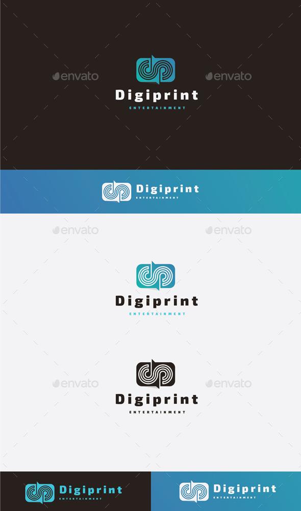 Digi Print Logo - Letters Logo Templates