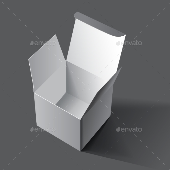 White Box for Cosmetics - Objects Vectors