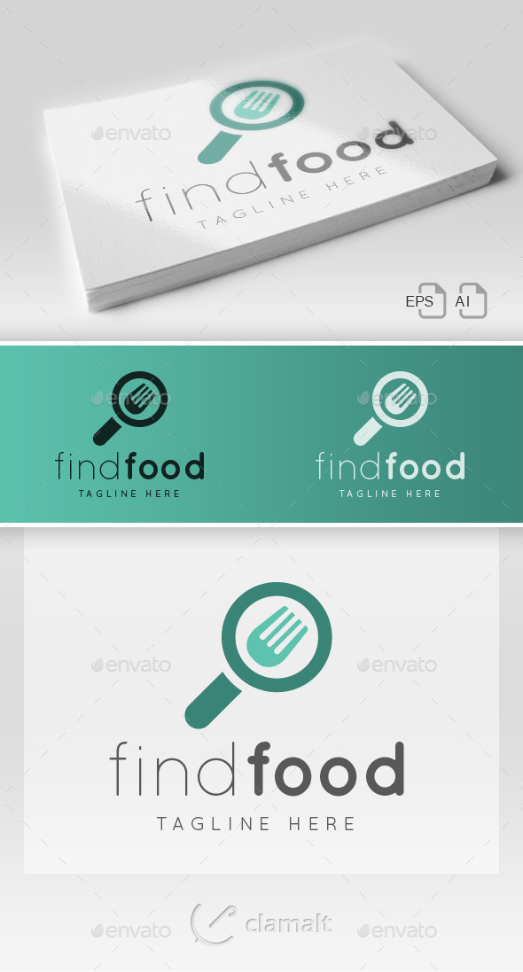 Find Food Logo - Food Logo Templates