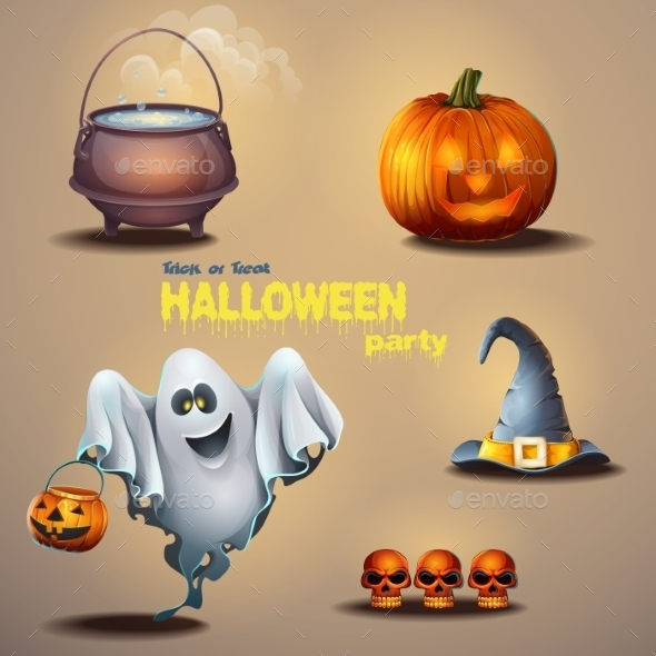 Halloween Elements - Halloween Seasons/Holidays