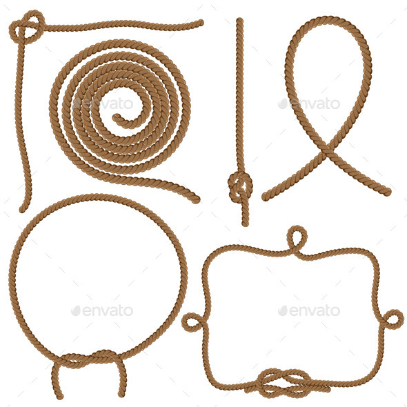 Ropes and Knots - Man-made Objects Objects