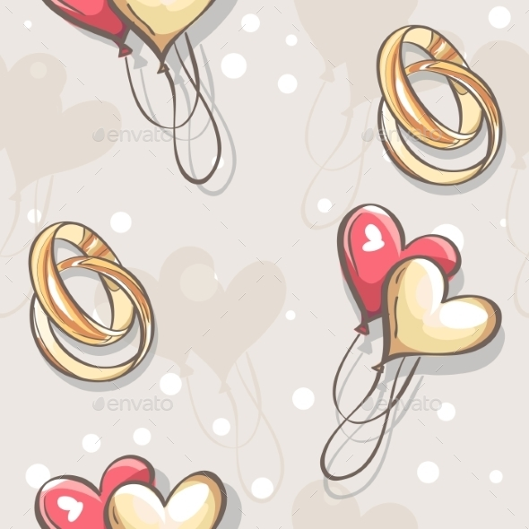 Wedding Pattern - Valentines Seasons/Holidays