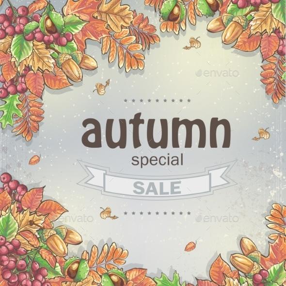 Autumn Pattern - Seasons Nature