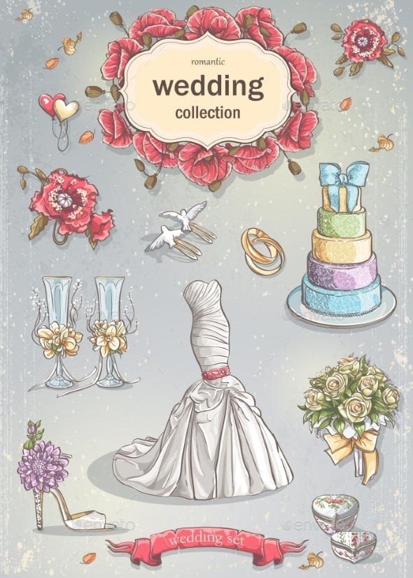 Wedding Elements - Valentines Seasons/Holidays