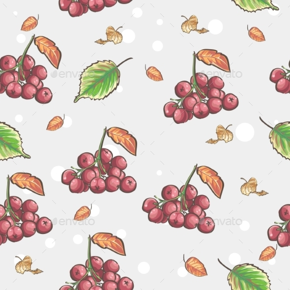 Berries Pattern - Backgrounds Decorative