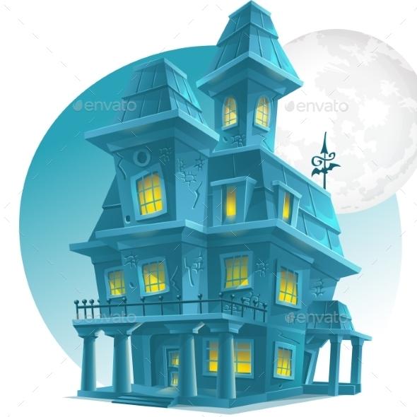 Haunted House - Halloween Seasons/Holidays