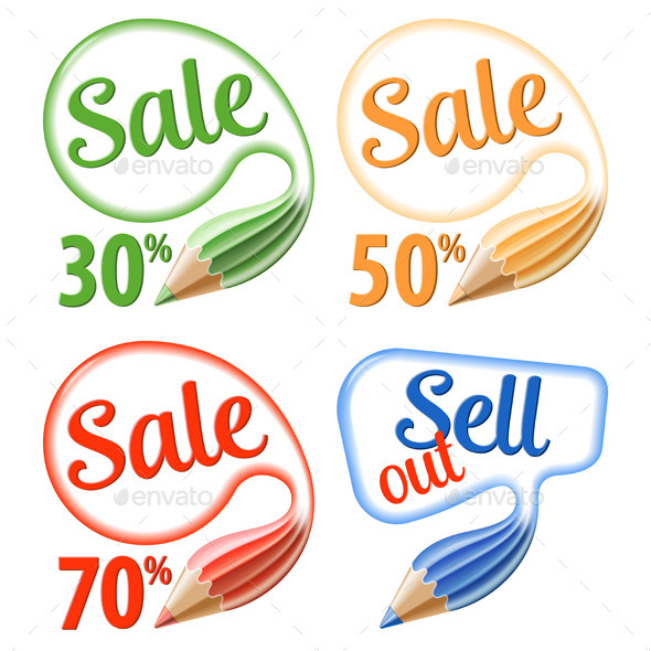Collect Sale Signs - Concepts Business