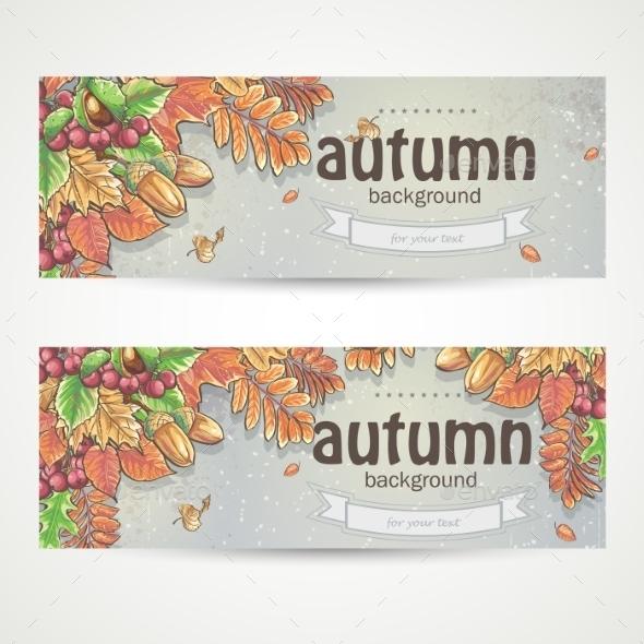 Autumn Banner - Seasons Nature
