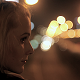 Bokeh Night Girl Highway - VideoHive Item for Sale