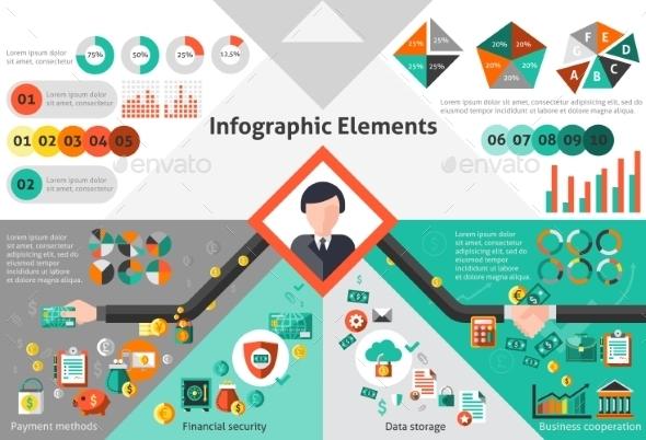 Finance Infographic Set - Infographics
