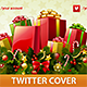 Christmas Gifts Twitter Cover - GraphicRiver Item for Sale