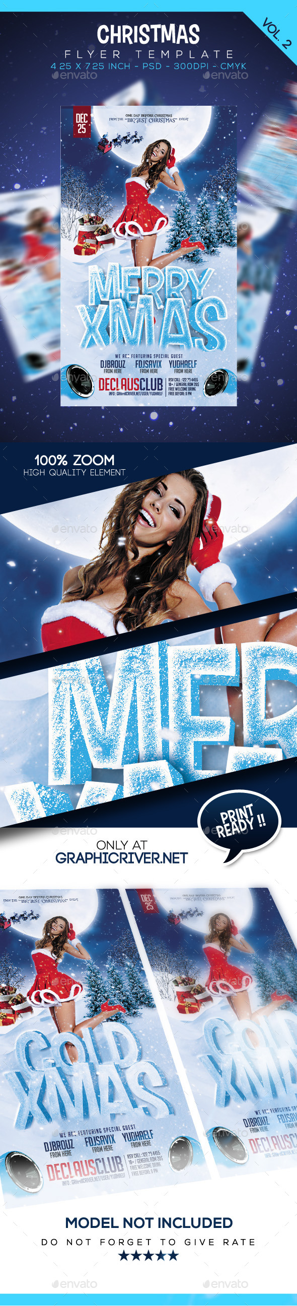Christmas Flyer Vol. 2 - Clubs & Parties Events