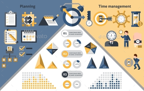 Time Management Infographics - Infographics