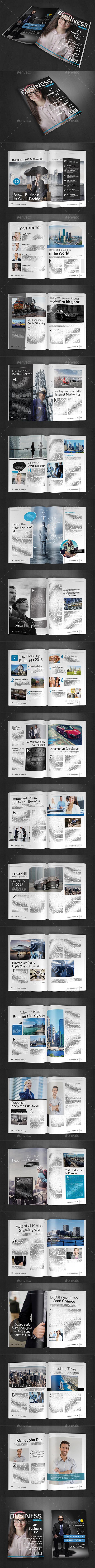 A4 Magazine Template Vol.9 - Magazines Print Templates
