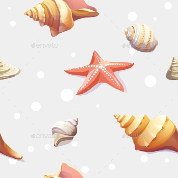 Seashells - Decorative Symbols Decorative