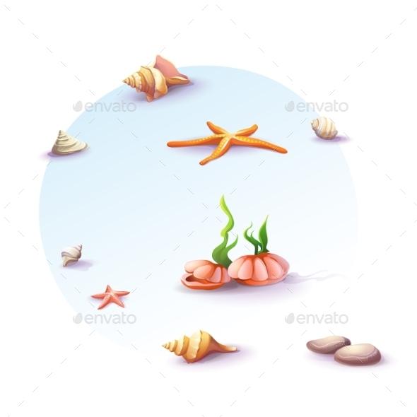 Beach Background - Seasons Nature