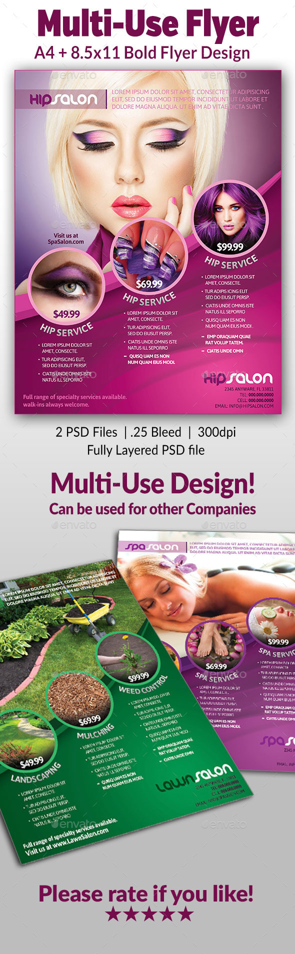 Multi-use Flyer - Commerce Flyers