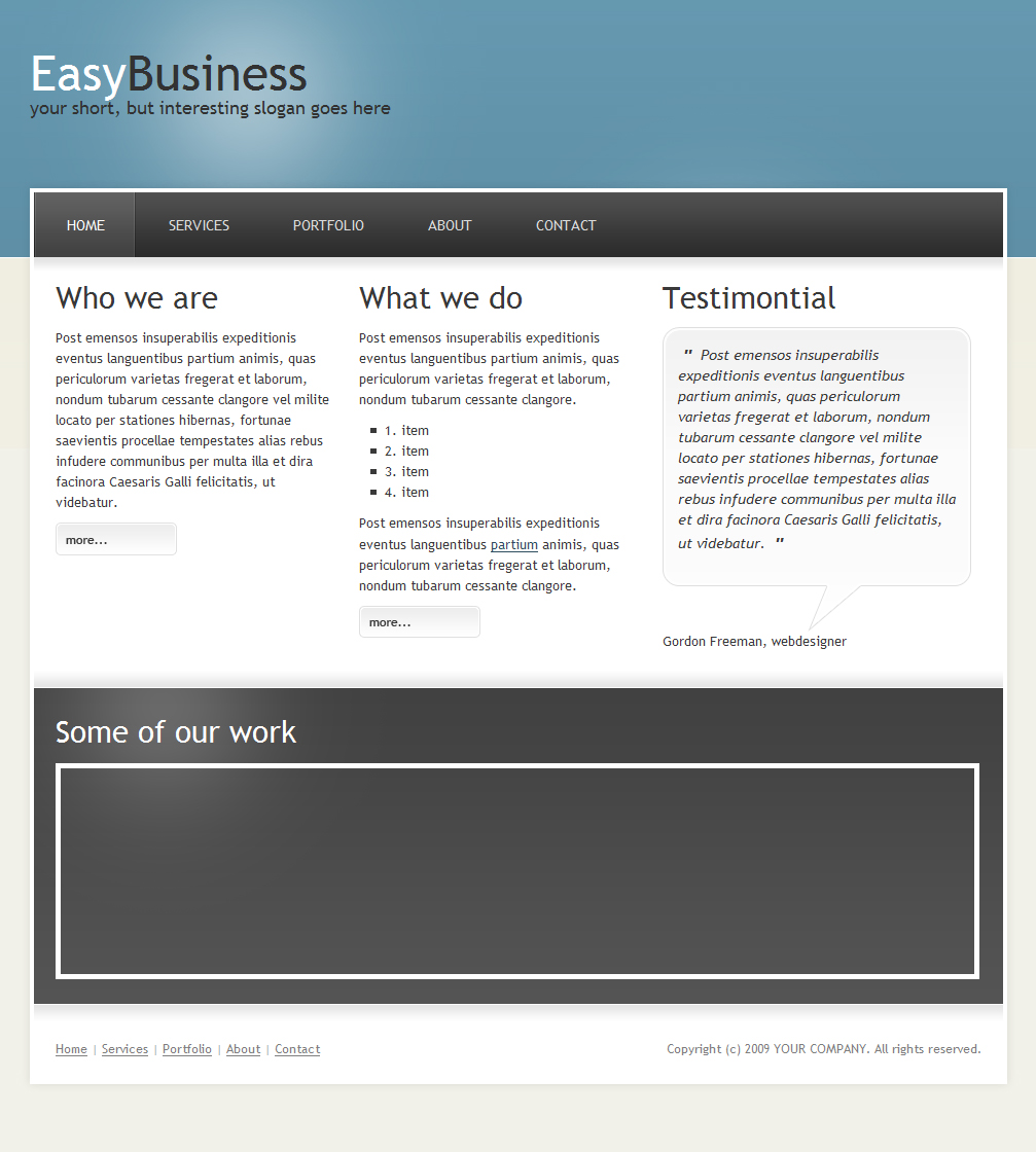Free Download EasyBusiness | Clean&Modern Business Template Nulled Latest Version