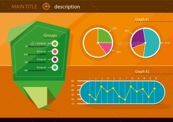 Infographics Icons and Elements - Technology Conceptual