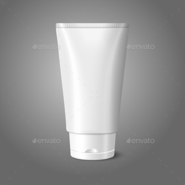 Cosmetics Tube - Man-made Objects Objects