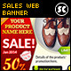 Sales/Discount Website Banner/Ads - GraphicRiver Item for Sale