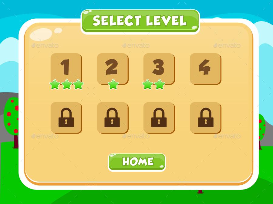 Envato Game Ui