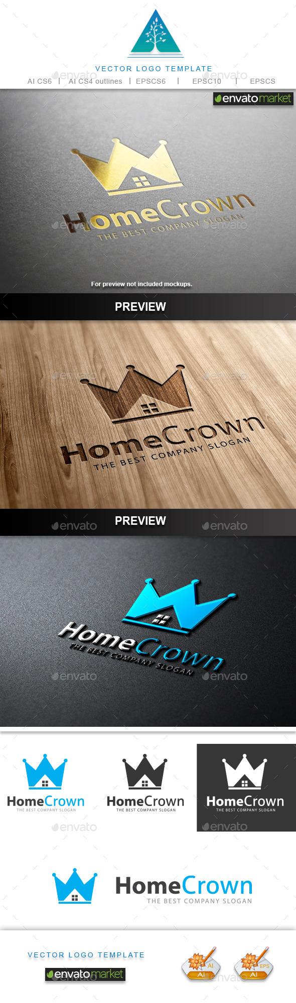 Home Crown Logo - Crests Logo Templates