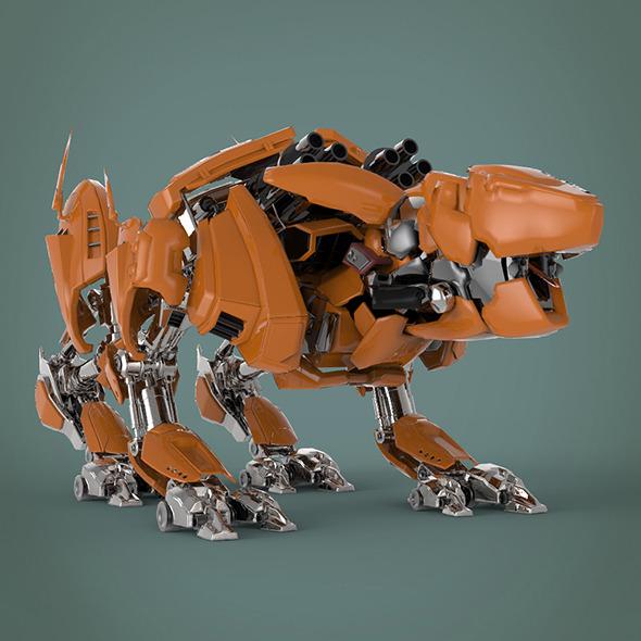 Fantastic robot - 3DOcean Item for Sale