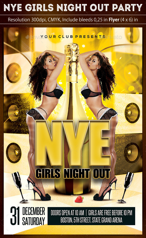 New Year Girls Night Out Party - Clubs & Parties Events