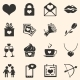 Set of Icons for Valentine Day - GraphicRiver Item for Sale