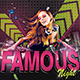 Dj Famous Night - GraphicRiver Item for Sale
