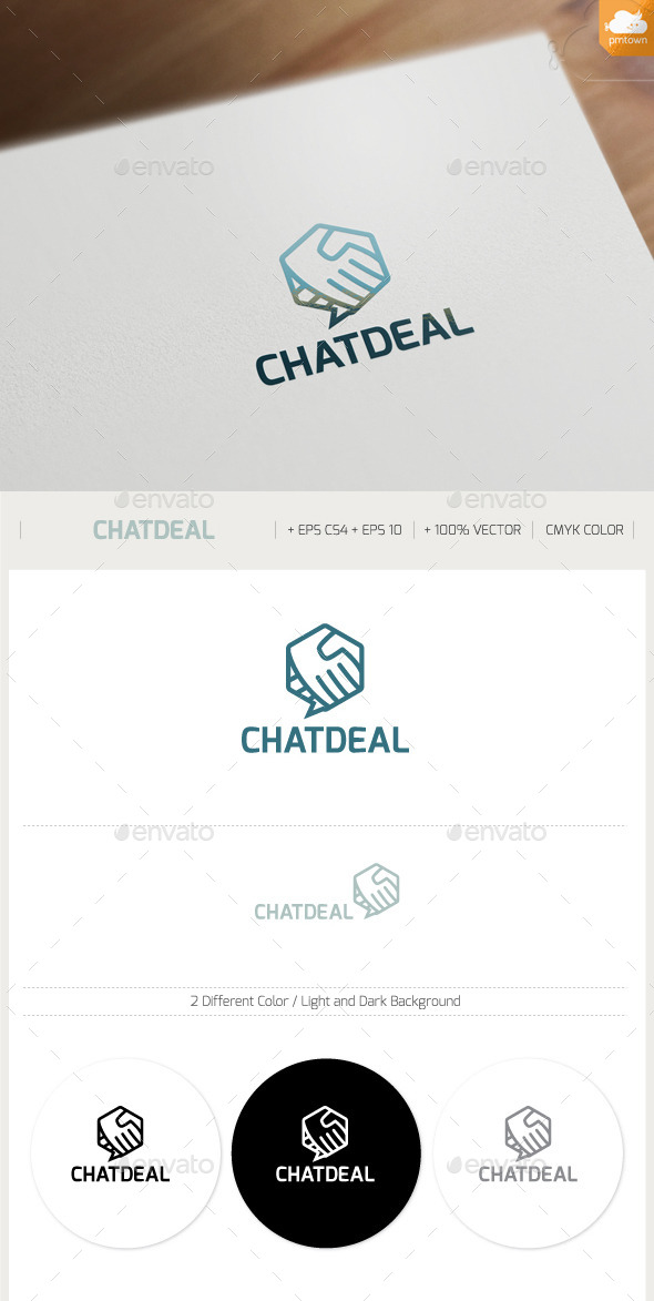 CHATDEAL - Objects Logo Templates