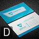 Clean Business Card V0152 - GraphicRiver Item for Sale
