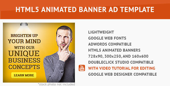 Corporate Ad - HTML5 Animated Banner - CodeCanyon Item for Sale