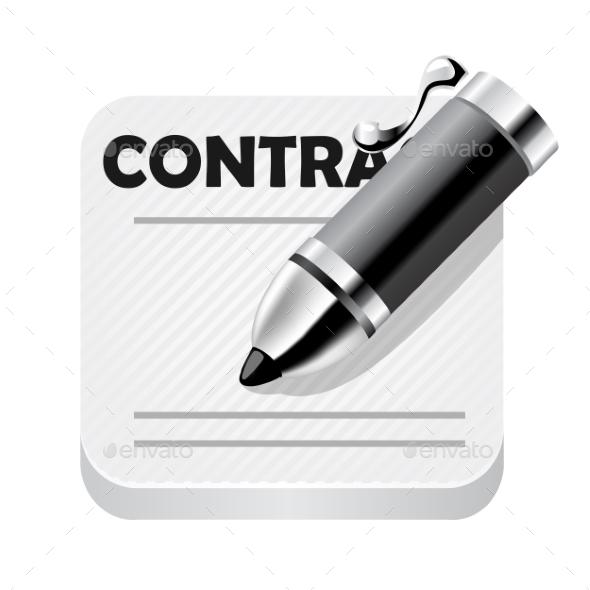 Contraction Icon - Miscellaneous Conceptual