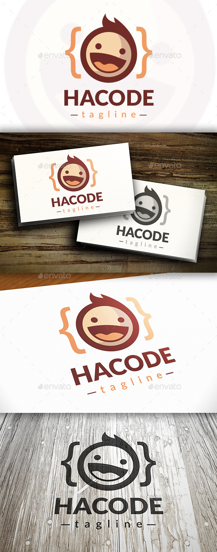Geek Code Logo - Humans Logo Templates