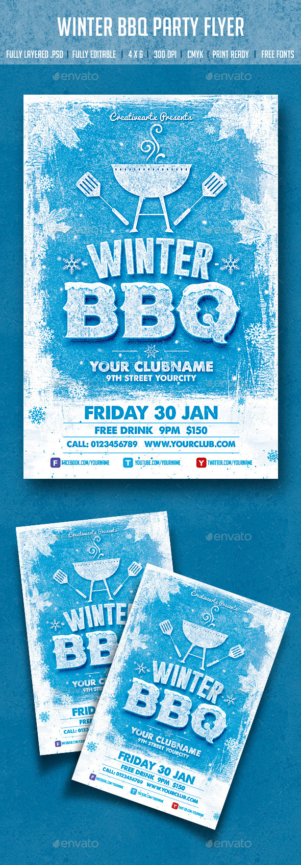 Winter BBQ Party - Clubs & Parties Events