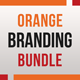 Orange Branding Bundle - GraphicRiver Item for Sale