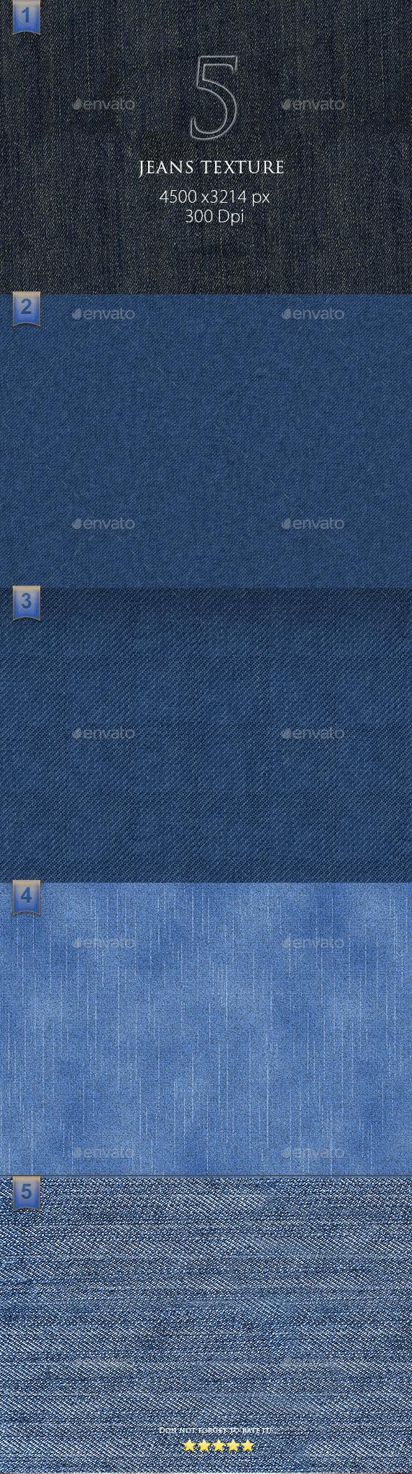 5 Jeans Texture - Textures