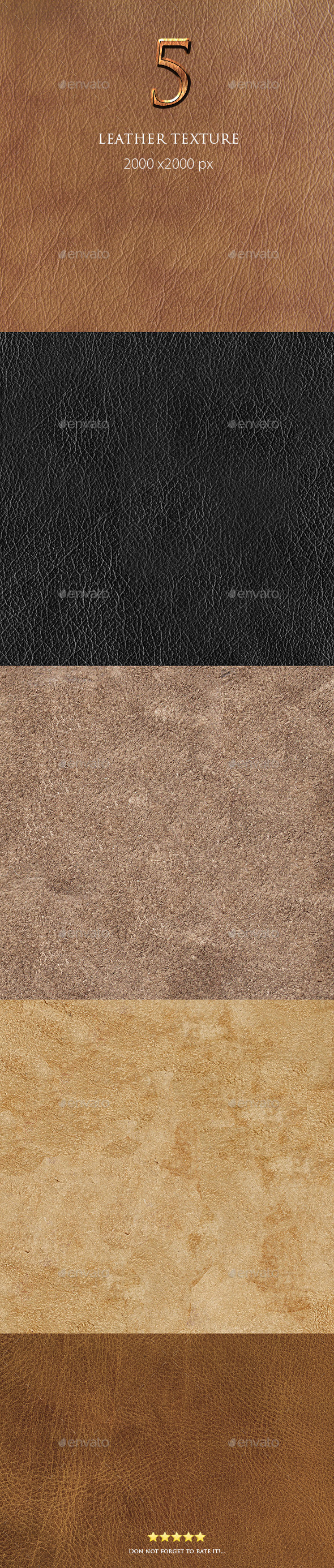5 Leather Texture - Textures