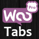 Woocommerce Tabs Pro: Extra Tabs for Product Page