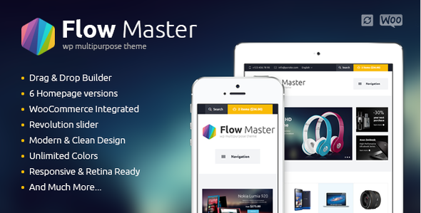 FlowMaster – Electronics Shop WooCommerce Theme