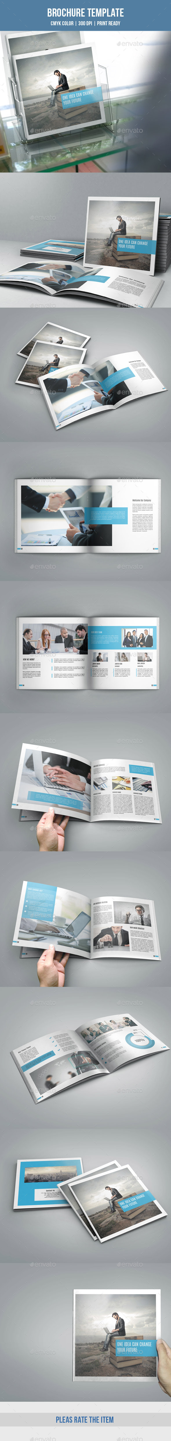 Square Bifold Business Brochure-V170 - Catalogs Brochures
